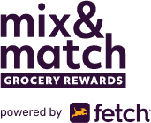 Mix and match grocery rewards powered by Fetch